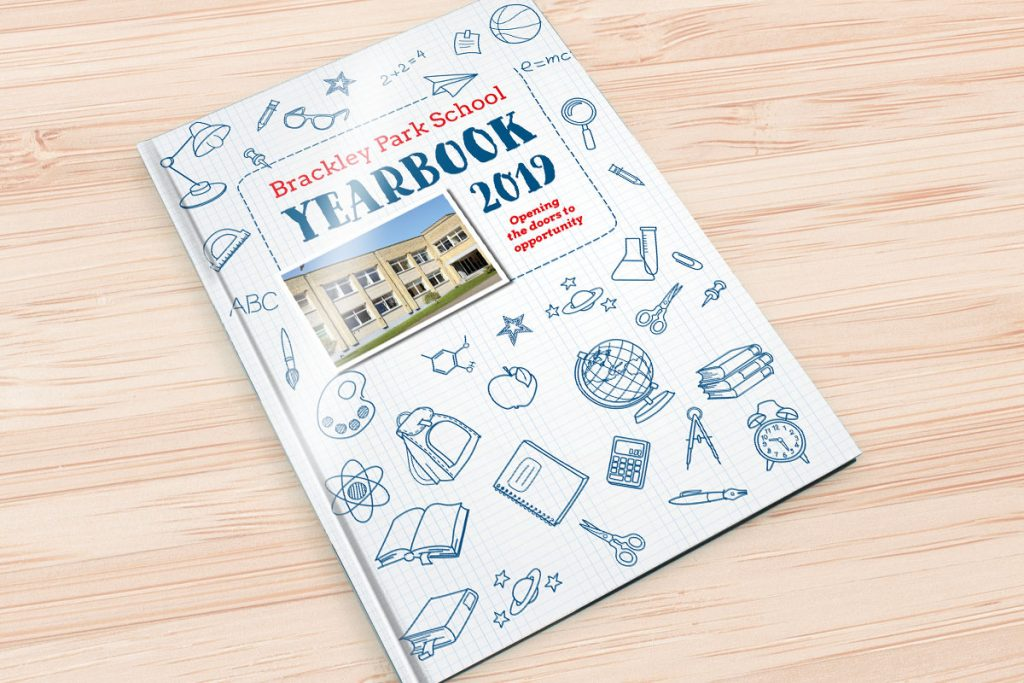 Yearbook BrackleyFront 2019