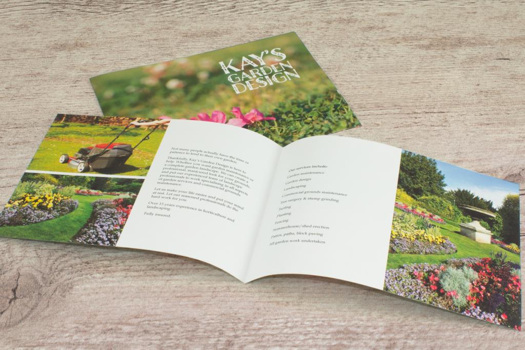 Custom business brochure